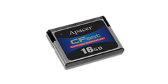 Apacer Industrial Grade CFast Flash Storage