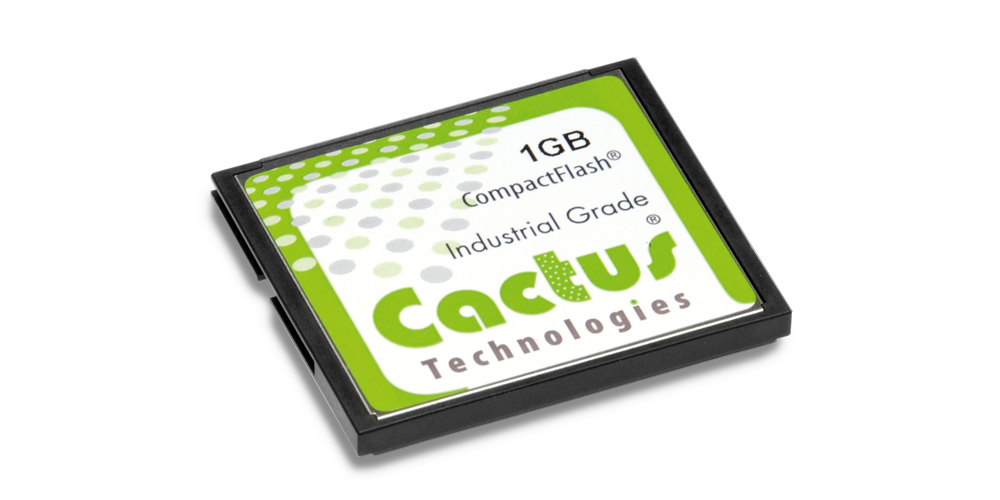 Cactus 203 Series CF Cards – Industrial Grade SLC NAND