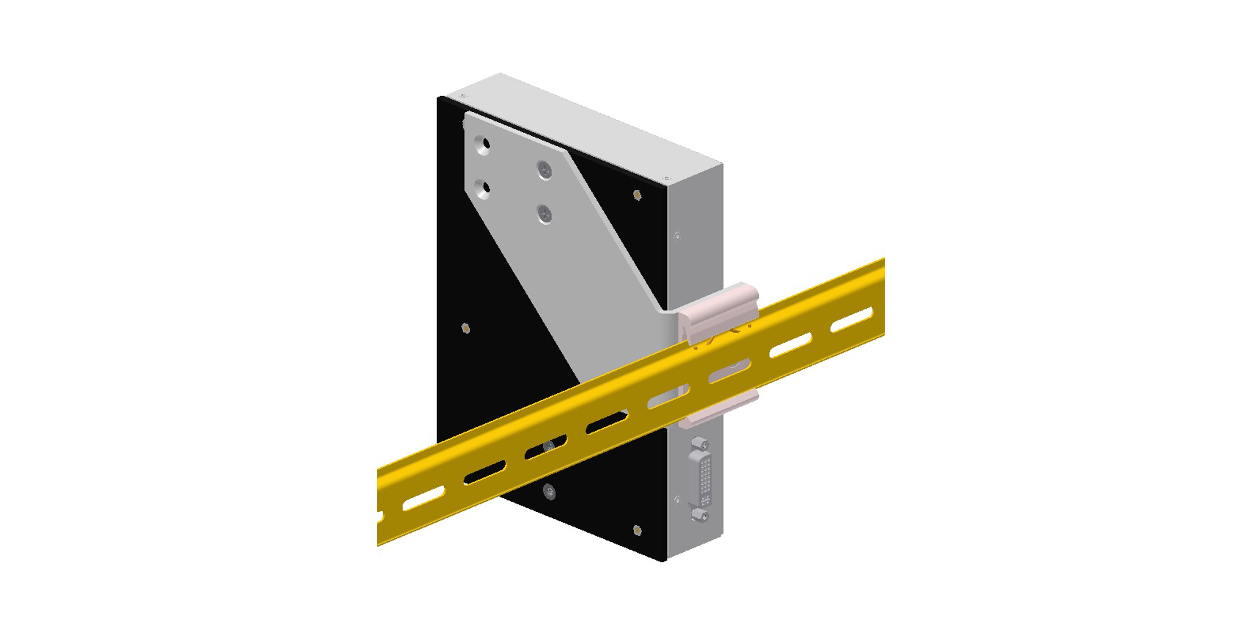 Rear Mounting Kit for Syslogic Industrial PC's