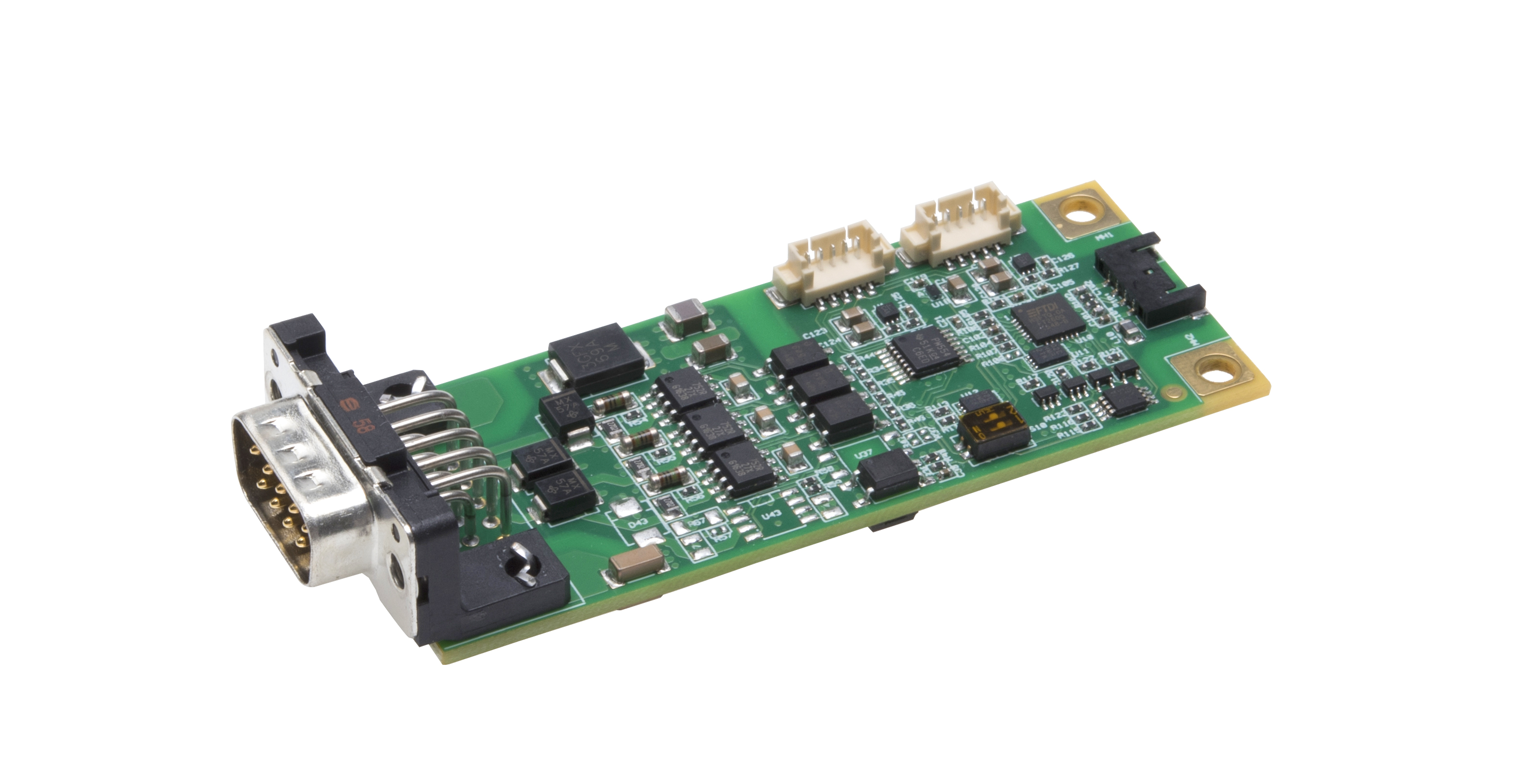 Industrial analog I/O module, 0 to 5V, –5 bis to 5V,  0–10V or –10 to +10V