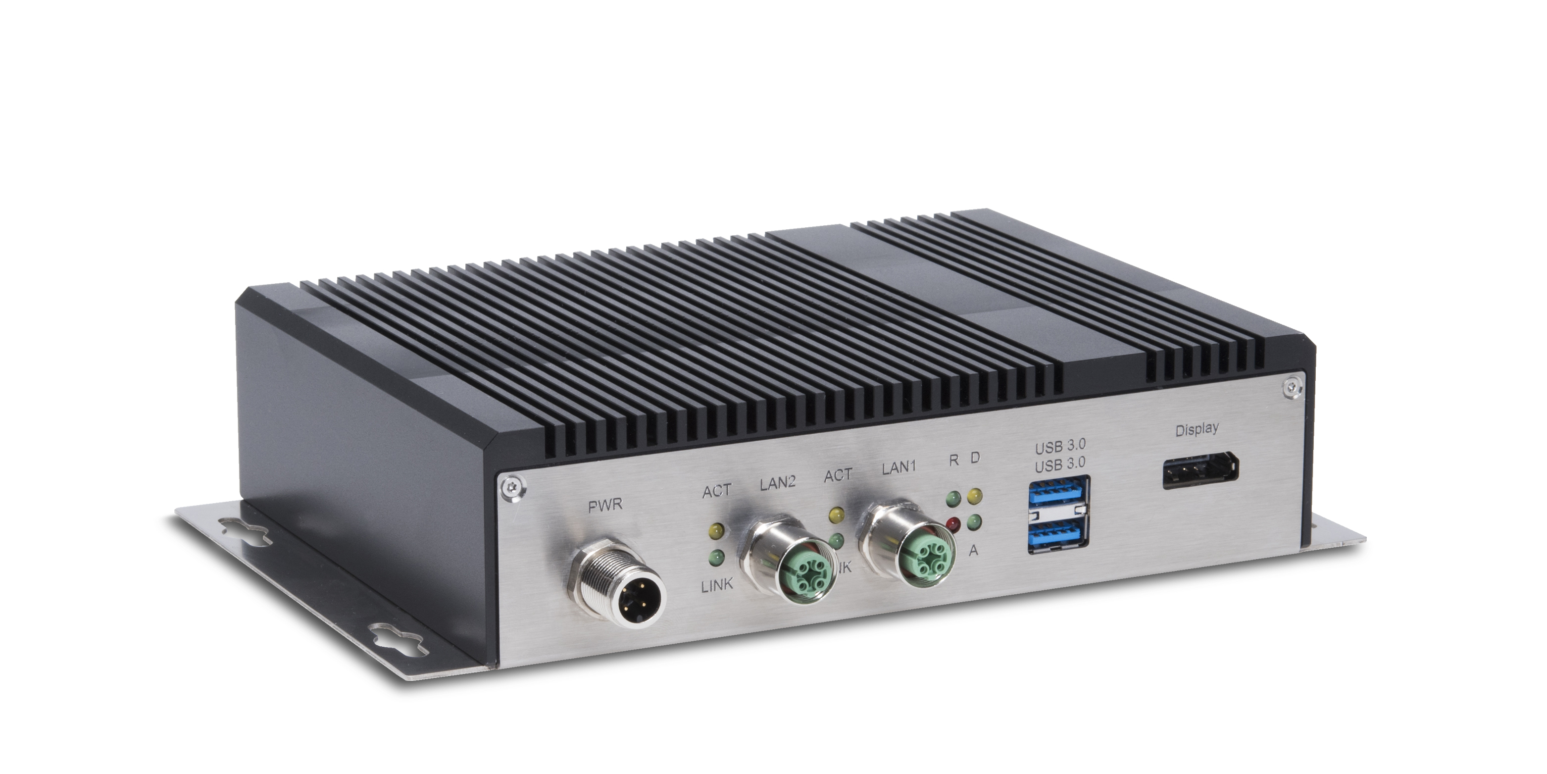 Rugged Industrial PC for commercial vehicles, railway and transportation applications.
