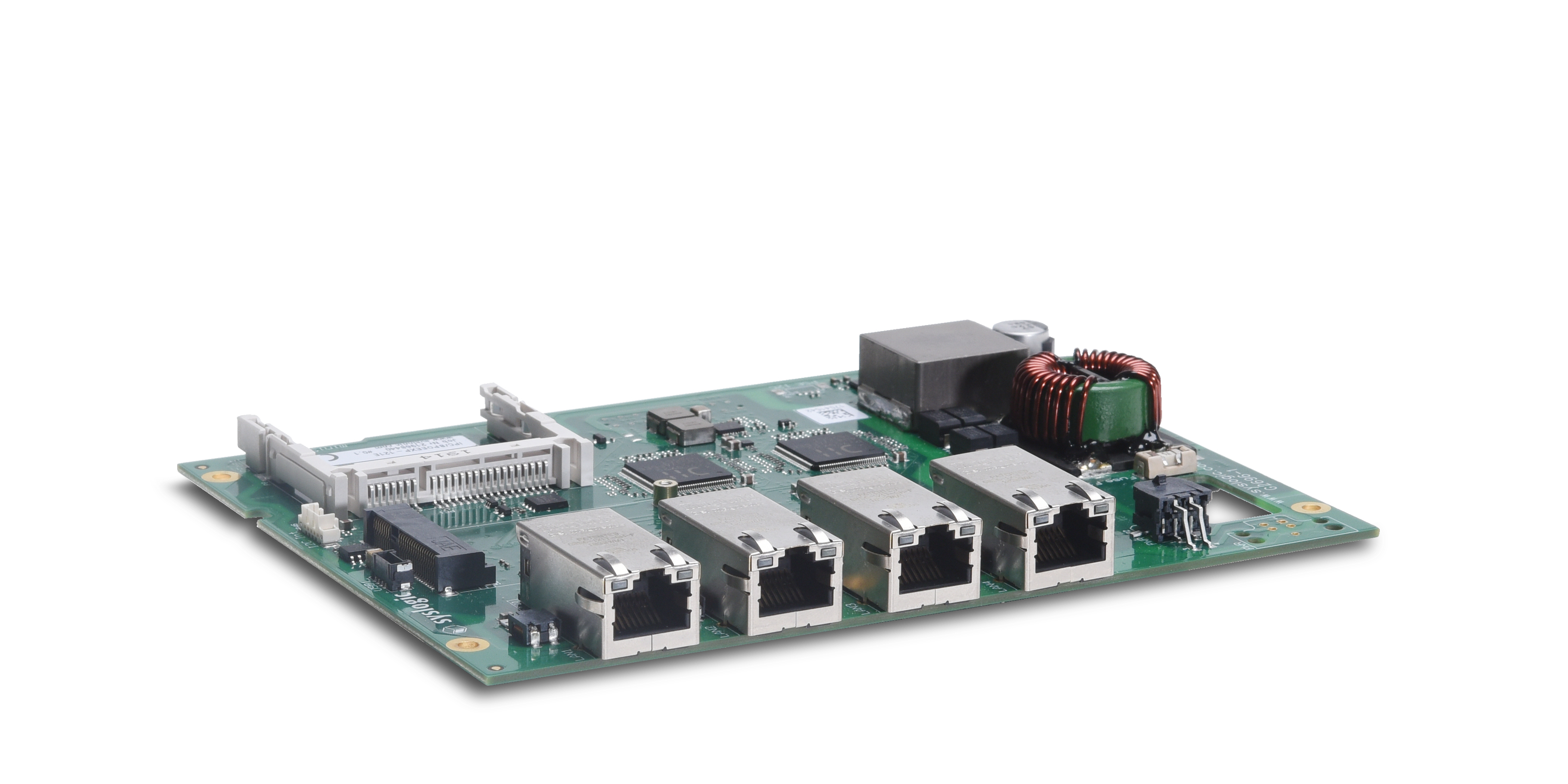 Syslogic PoE Board – RJ45 version