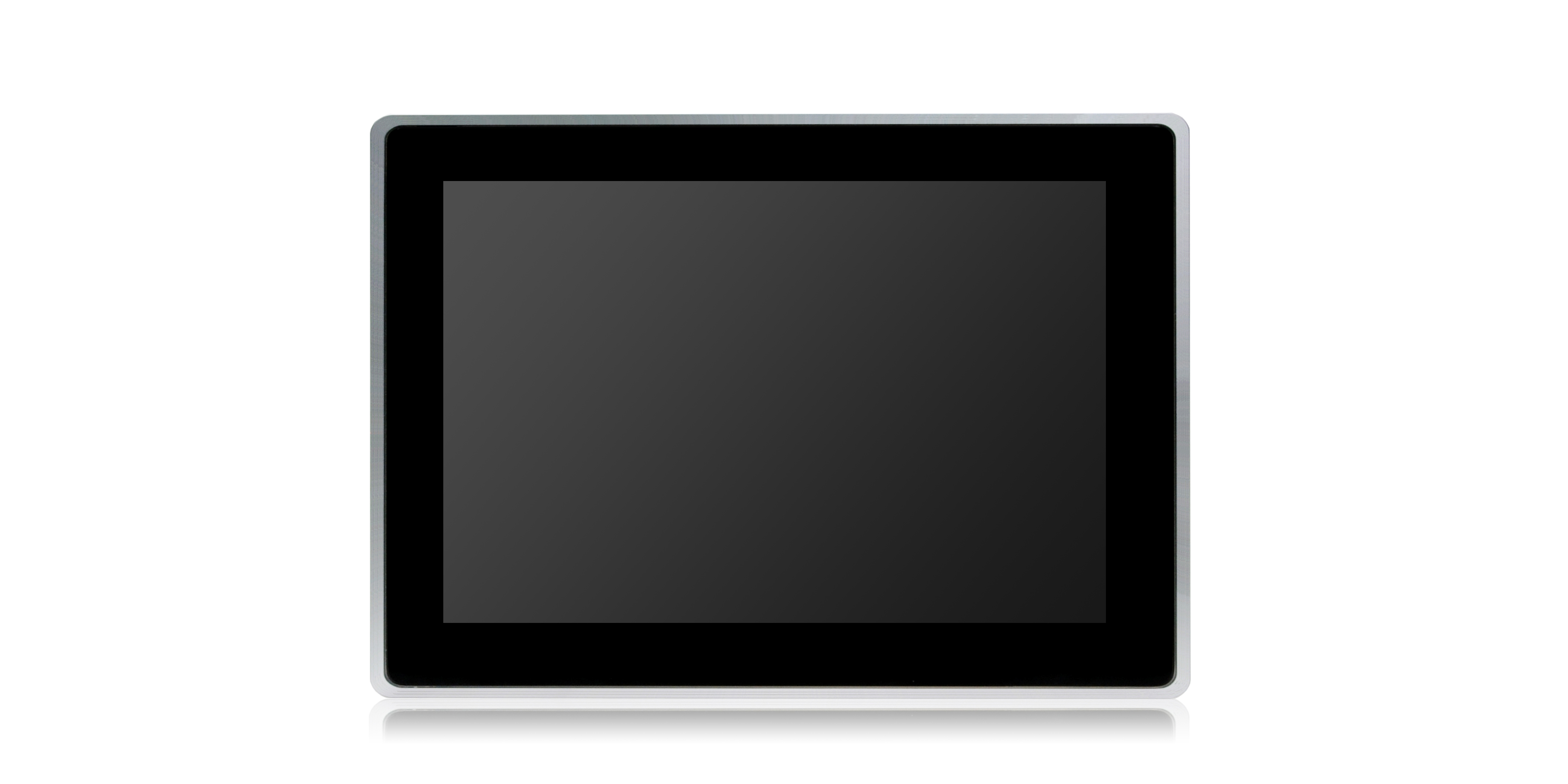 Surface-mounted touch panel PC with widescreen display