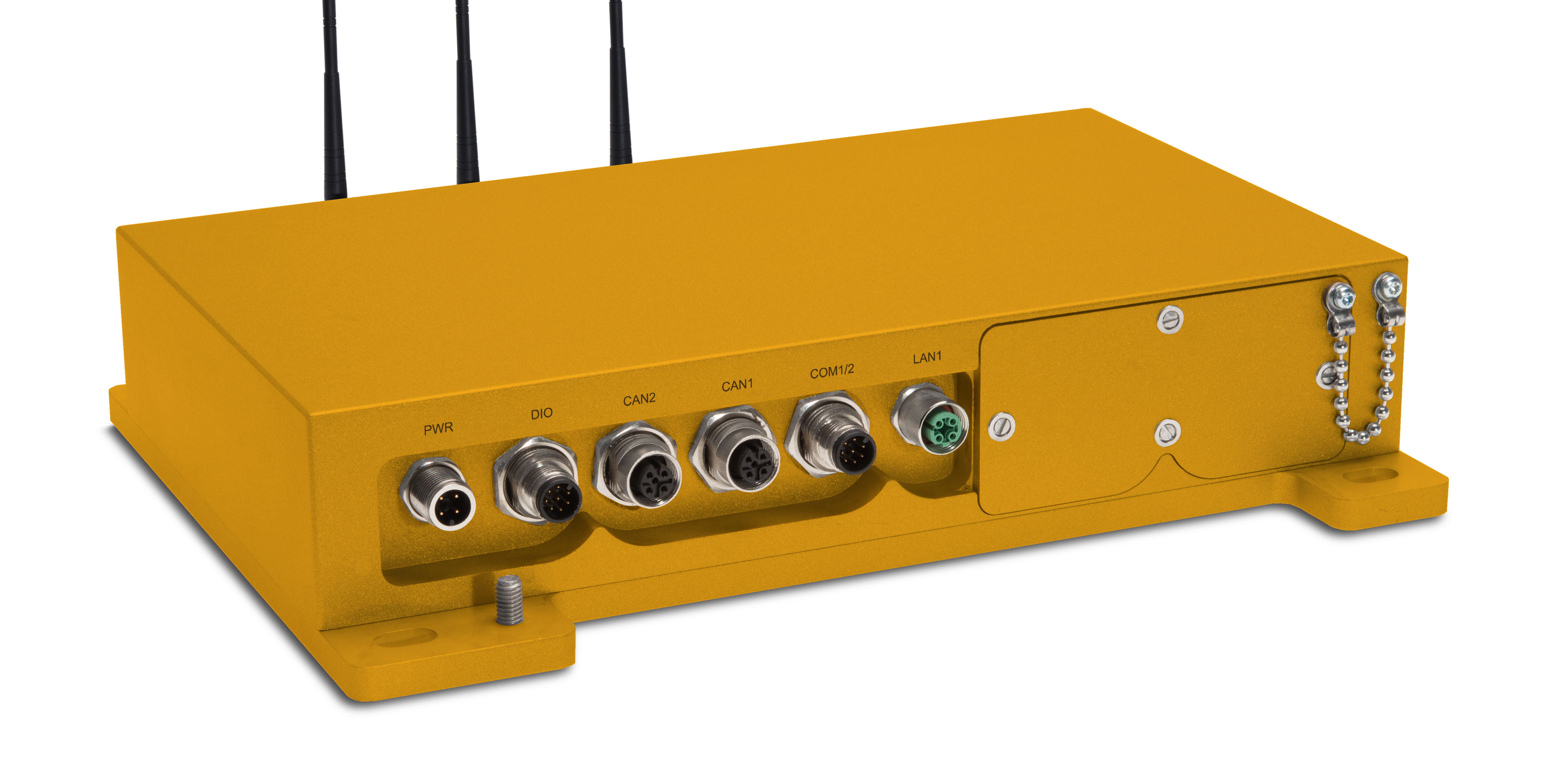 Ruggedized Embedded Box PC for Off-Highway Trucks, Dozers or Track Loaders.