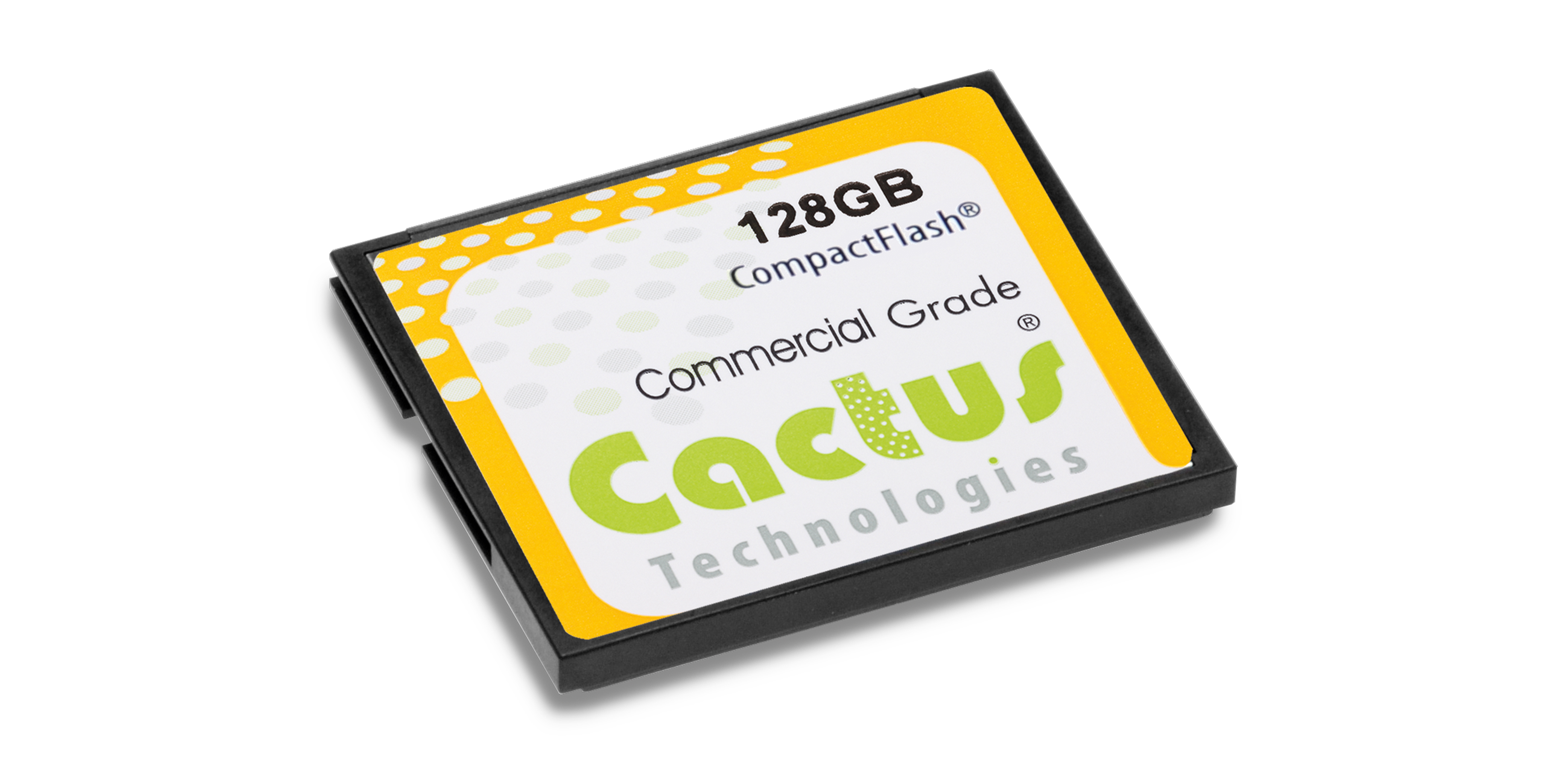 Cactus Technologies MLC NAND CF Card for Industrial Applications.