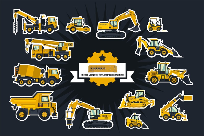 <p>Embedded systems for graders, wheel loaders, off-highway trucks, track loaders, mining trucks or dozers.</p>