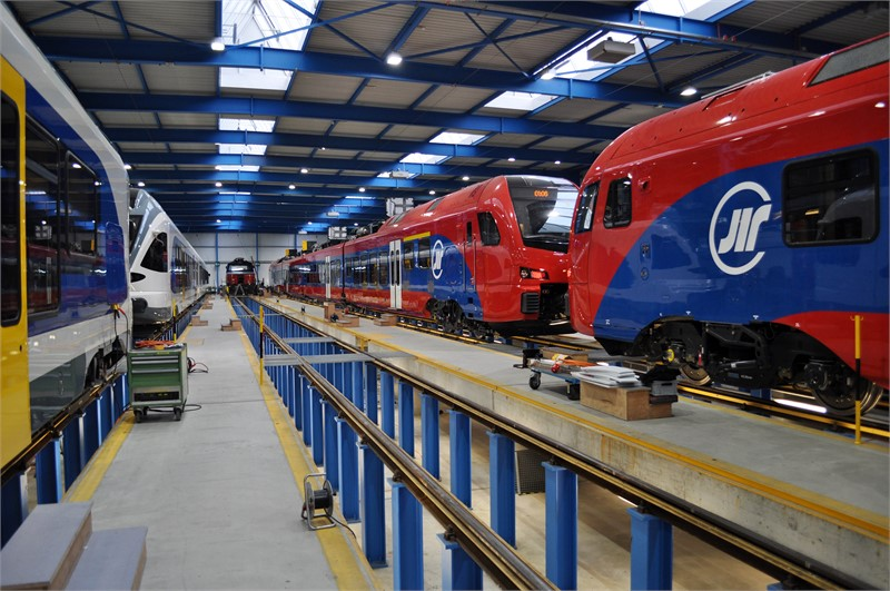 <p> At the commissioning center in Erlen in Switzerland, all vehicles from the Swiss production are tested and commissioned. </p>